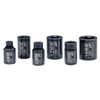 "1/4"" Drive Metric Standard Socket Set, 6 Piece"