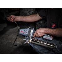 Cordless, Grease Gun, application