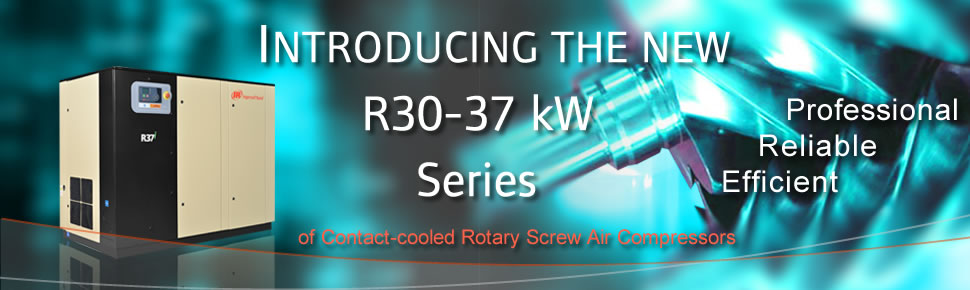 Introducing the R-Series rotary screw air compressor