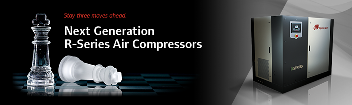 Introducing Next Generation R-Series oil-flooded, rotary screw air compressors