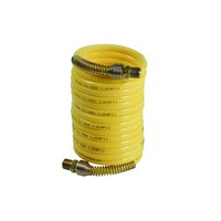 N14-12 Recoil hose with rigid couplings at both ends, acc