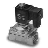 2-Way, Brass Direct Acting Solenoid
